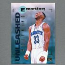 1994-95 Emotion Basketball #010 Alonzo Mourning - Charlotte Hornets
