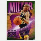 1996-97 Z-Force Basketball #38 Reggie Miller - Indiana Pacers