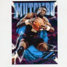 1996-97 Z-Force Basketball #24 Dikembe Mutombo - Atlanta Hawks