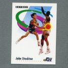 1991-92 SkyBox Basketball #285 John Stockton - Utah Jazz