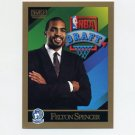 1990-91 SkyBox Basketball #361 Felton Spencer RC - Minnesota Timberwolves