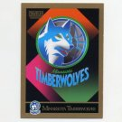 1990-91 SkyBox Basketball #343 Minnesota Timberwolves Team Checklist