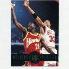 1993-94 SkyBox Premium Basketball Showdown Series #SS09 Dominique Wilkins / Scottie Pippen