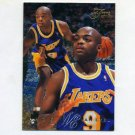 1995-96 Flair Basketball #068 Nick Van Exel - Los Angeles Lakers