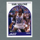 1989-90 Hoops Basketball #030 Karl Malone - Utah Jazz