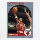 1990-91 Hoops Basketball #069 Scottie Pippen - Chicago Bulls