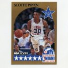 1990-91 Hoops Basketball #009 Scottie Pippen AS - Chicago Bulls NM-M