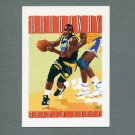 1991-92 Hoops Basketball #511 Tim Hardaway TC - Golden State Warriors