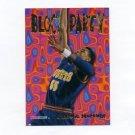 1995-96 Hoops Basketball Block Party #04 Dikembe Mutombo - Denver Nuggets
