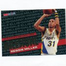 1995-96 Hoops Basketball #213 Reggie Miller MS - Indiana Pacers