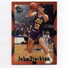 1994-95 Embossed Basketball #097 John Stockton - Utah Jazz