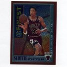 1995-96 Finest Basketball Mystery #M15 Scottie Pippen - Chicago Bulls