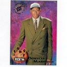 1994-95 Stadium Club Basketball #182 Donyell Marshall RC - Minnesota Timberwolves