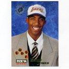 1994-95 Stadium Club Basketball #180 Eddie Jones RC - Los Angeles Lakers