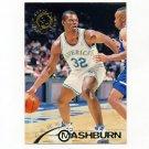 1994-95 Stadium Club Basketball #125 Jamal Mashburn - Dallas Mavericks