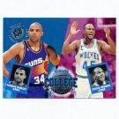 1994-95 Stadium Club Basketball #101 Chuck Person / Charles Barkley CT
