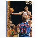 1996-97 Stadium Club Basketball Welcome Additions #WA18 Allan Houston - New York Knicks