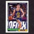 1992-93 Topps Basketball #301 John Stockton - Utah Jazz