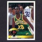 1995-96 Topps Basketball #023 Gary Payton LL - Seattle Supersonics