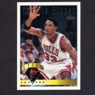 1995-96 Topps Basketball #021 Scottie Pippen LL - Chicago Bulls