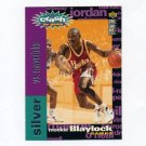 1995-96 Collector's Choice Crash the Game Scoring Silver Redemption #C06 Mookie Blaylock - Hawks