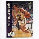 1995-96 Collector's Choice Basketball #392 John Stockton LOVE - Utah Jazz