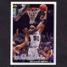 1995-96 Collector's Choice Basketball #050 David Robinson - San Antonio Spurs