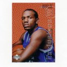 1996-97 Upper Deck Rookie Exclusives Basketball #R17 Tony Delk - Charlotte Hornets