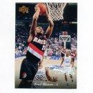 1995-96 Upper Deck Basketball Electric Court #011 Aaron McKie - Portland Trail Blazers