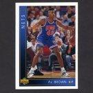 1993-94 Upper Deck Basketball #403 P.J. Brown RC - New Jersey Nets