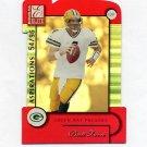 2001 Donruss Elite Aspirations Football #035 Brett Favre - Green Bay Packers 54/96