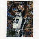 1995-96 Metal Basketball #099 David Robinson - San Antonio Spurs