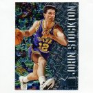 1996-97 Metal Basketball #102 John Stockton - Utah Jazz