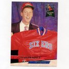 1993-94 Ultra Basketball #139 Shawn Bradley RC - Philadelphia 76ers