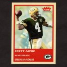 2004 Fleer Tradition Football #044 Brett Favre - Green Bay Packers