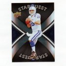 2008 Upper Deck First Edition Star Quest Football #SQ25 Peyton Manning - Indianapolis Colts