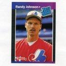 1989 Donruss Baseball #042 Randy Johnson RC - Montreal Expos