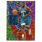1994-95 Ultra Power In The Key Basketball #04 Larry Johnson - Charlotte Hornets