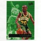 1995-96 Ultra Double Trouble Basketball #07 Gary Payton - Seattle Supersonics