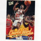 1996-97 Ultra Gold Medallion Basketball #G223 Charlie Ward - New York Knicks