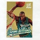 1996-97 Ultra Basketball #184 Jerome Williams RC - Detroit Pistons