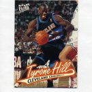 1996-97 Ultra Basketball #165 Tyrone Hill - Cleveland Cavaliers