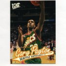 1996-97 Ultra Basketball #104 Gary Payton - Seattle Supersonics