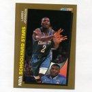 1992-93 Fleer Basketball #259 Larry Johnson SY - Charlotte Hornets