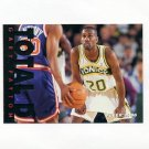 1995-96 Fleer Total D Basketball #08 Gary Payton - Seattle Supersonics