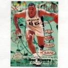 1995-96 Fleer Basketball #172 Doc Rivers - San Antonio Spurs