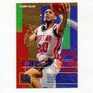 1995-96 Fleer Basketball #052 Allan Houston - Detroit Pistons