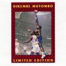 1991-92 Fleer Dikembe Mutombo Basketball #01 Dikembe Mutombo - Denver Nuggets