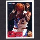 1993-94 Fleer Basketball #353 Moses Malone - Philadelphia 76ers