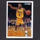 1993-94 Fleer Basketball #316 Nick Van Exel RC - Los Angeles Lakers